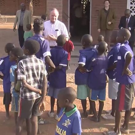 Impact > Education > Classrooms in Malawi