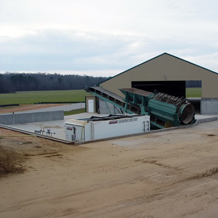 Impact > Sustainability > Compost Facility in Nashville, North Carolina