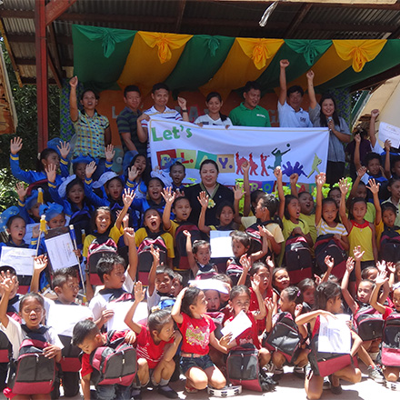 Impact > YouthSupport > Philippine Summer School: Let's PLAY program